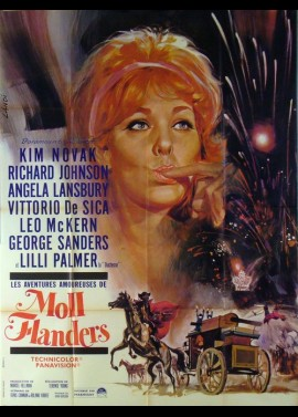 AMOROUS ADVENTURES OF MOLL FLANDERS (THE) movie poster