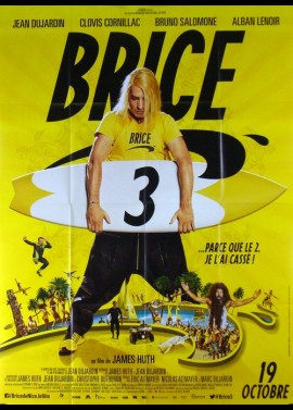 BRICE 3 movie poster