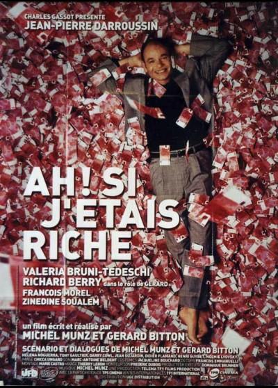 AH SI J'ETAIS RICHE movie poster