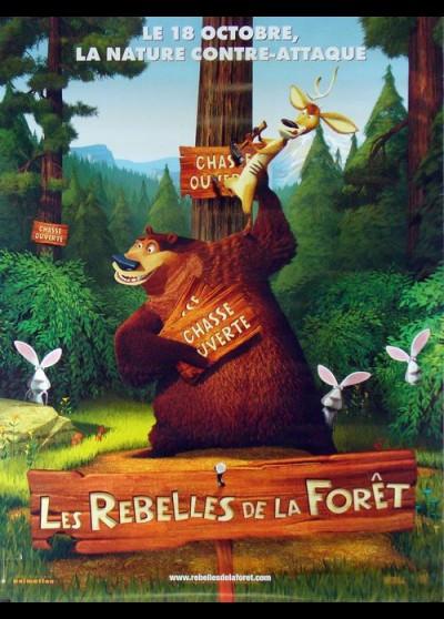affiche du film REBELLES DE LA FORET (LES)