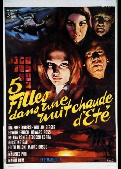 5 BAMBOLE PER LA LUNA D'AGOSTO movie poster