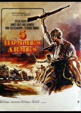 affiche du film CINQ HOMMES ARMES