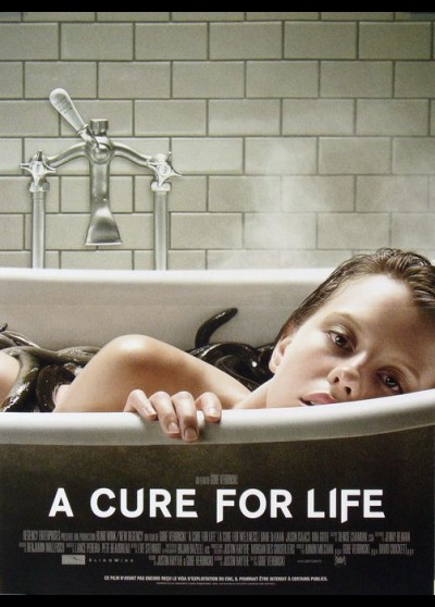 affiche du film A CURE FOR WELLNESS