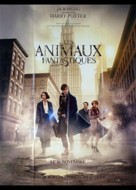 affiche du film ANIMAUX FANTASTIQUES (LES)