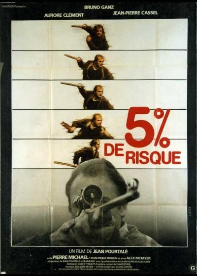 affiche du film CINQ POUR CENT DE RISQUE
