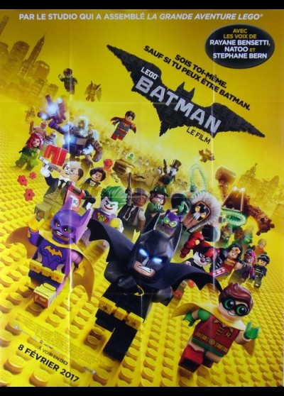 LEGO BATMAN MOVIE (THE) movie poster