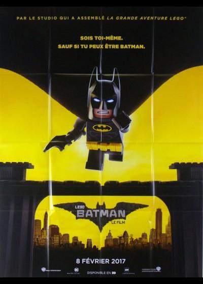 affiche du film LEGO BATMAN