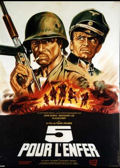 CINQUE PER L'INFERNO movie poster