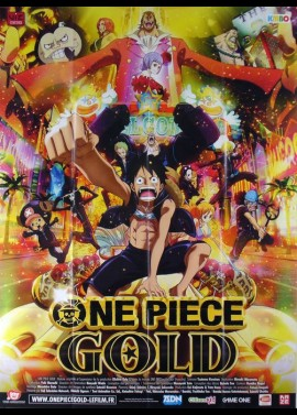 ONE PIECE GOLD movie poster