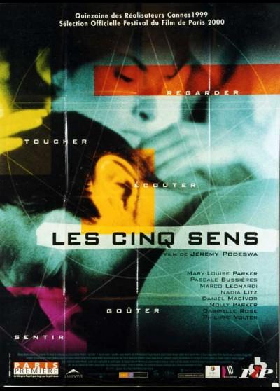 affiche du film CINQ SENS (LES)