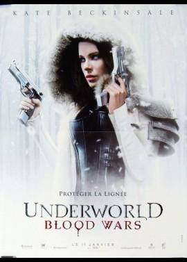 affiche du film UNDERWORLD BLOOD WARS