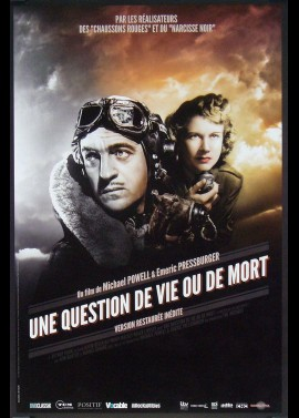 A MATTER OF LIFE AND DEATH movie poster
