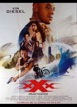XXX THE RETURN OF XANDER CAGE movie poster