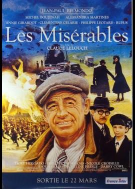 MISERABLES (LES) movie poster