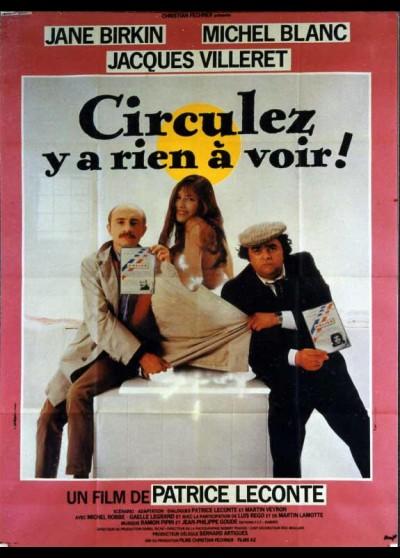 affiche du film CIRCULEZ Y'A RIEN A VOIR