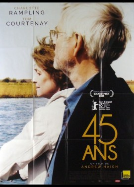 45 YEARS movie poster