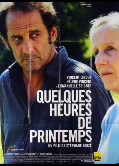 QUELQUES HEURES DE PRINTEMPS movie poster