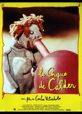 affiche du film CIRQUE DE CALDER (LE)
