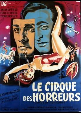 affiche du film CIRQUE DES HORREURS (LE)