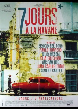 7 DIAS EN LA HABANA movie poster