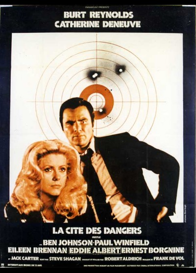 affiche du film CITE DES DANGERS (LA)