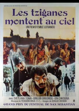 affiche du film TZIGANES MONTENT AU CIEL (LES)