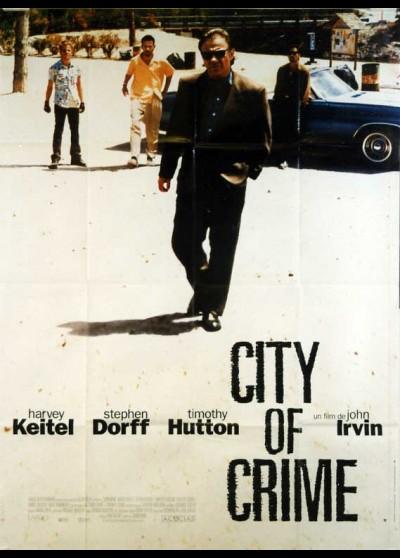 affiche du film CITY OF CRIME