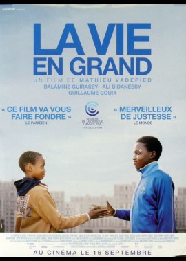 VIE EN GRAND (LA) movie poster