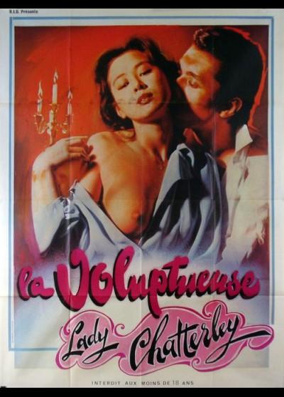 affiche du film VOLUPTUEUSE LADY CHATTERLEY (LA)
