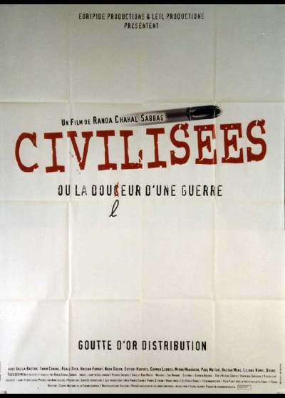 affiche du film CIVILISEES