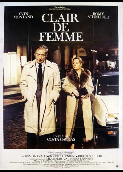 affiche du film CLAIR DE FEMME