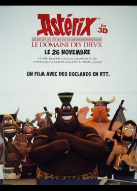 affiche du film ASTERIX LE DOMAINE DES DIEUX