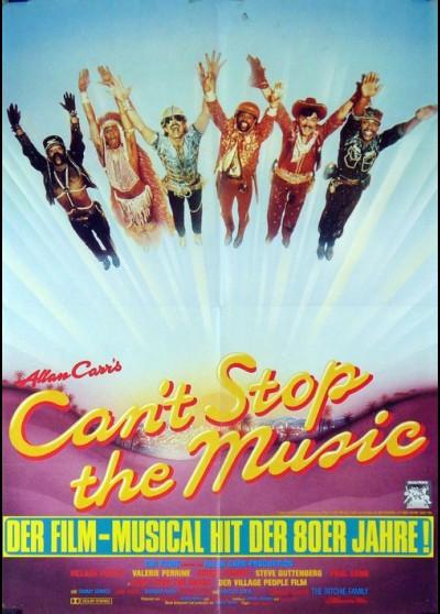 affiche du film CAN'T STOP THE MUSIC RIEN N'ARRETE LA MUSIQUE