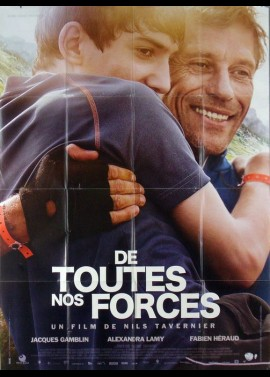 DE TOUTES NOS FORCES movie poster
