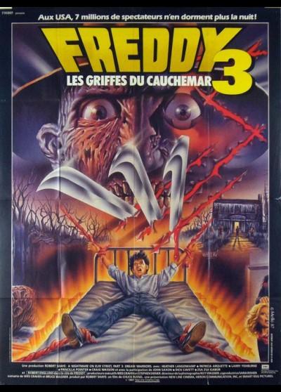 A NIGHTMARE ON ELMSTREET 3 DREAM WARRIORS movie poster