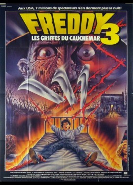 A NIGHTMARE ON ELMSTREET 3 DREAM WARRIORS movie poster