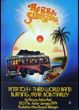 REGGAE SUNSPLASH movie poster