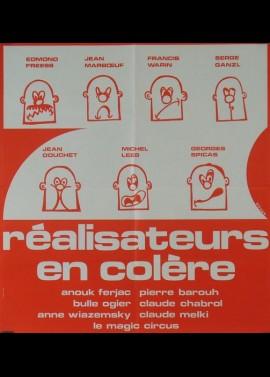 affiche du film SEPT REALISATEURS EN COLERE