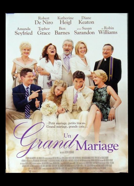 poster BIG WEDDING (THE) Justin Zackham - CINESUD movie ...