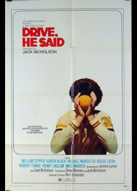 DRIVE HE SAID movie poster