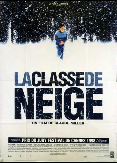 affiche du film CLASSE DE NEIGE (LA)