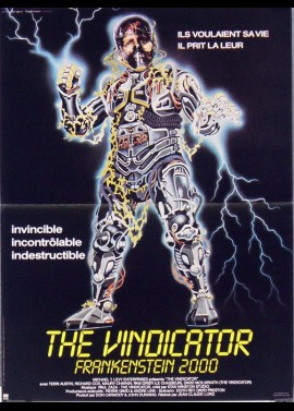 VENDICATOR (THE) movie poster
