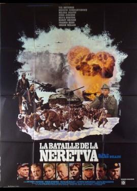 affiche du film BATAILLE DE LA NERETVA (LA)