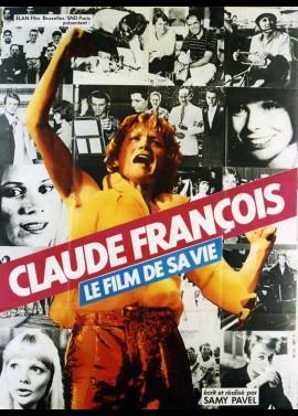 affiche du film CLAUDE FRANCOIS LE FILM DE SA VIE