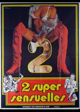 affiche du film DEUX SUPER SENSUELLES