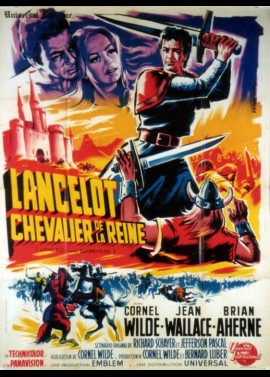LANCELOT AND GUINEVERE movie poster