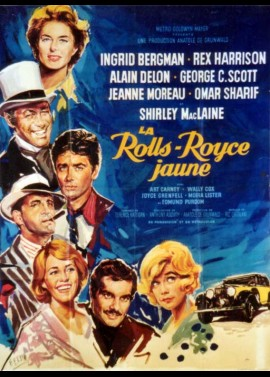 YELLOW ROLLS ROYCE (THE) movie poster