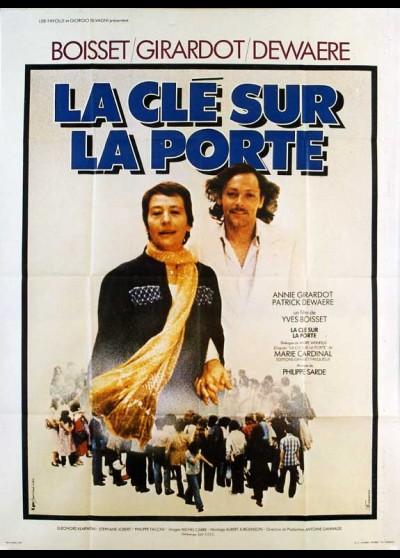affiche du film CLE SUR LA PORTE (LA)