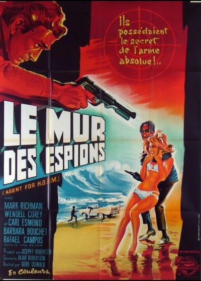 affiche du film MUR DES ESPIONS (LE)