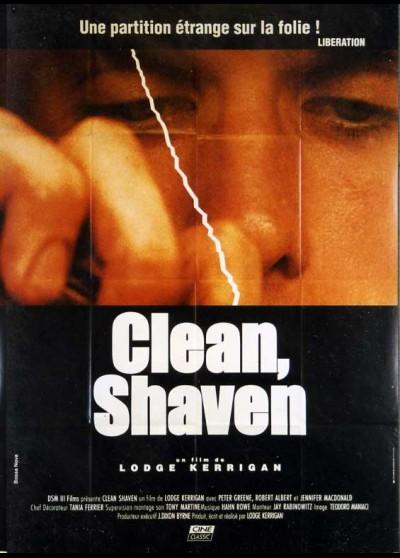 affiche du film CLEAN SHAVEN